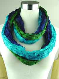 silk long scarf